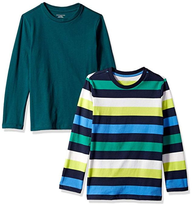 Back-to-School Clothes for Kids: Amazon Essentials Long-Sleeve Two-Pack