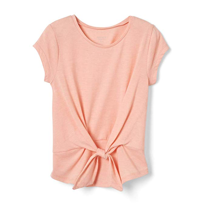 Back-to-School Clothes for Kids: French Toast Peach Knot-Tie Blouse