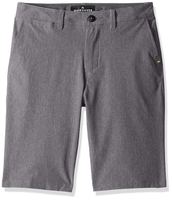 Back-to-School Clothes for Kids: Quicksilver Youth Union Heather Amphibian Hybrid Short