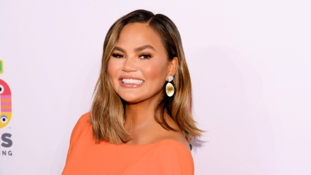 Chrissy Teigen attends Sesame Workshop's 50th