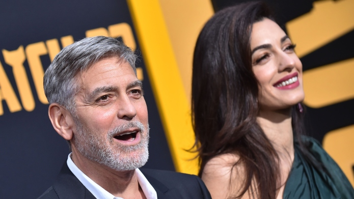 George & Amal Clooney Double Date