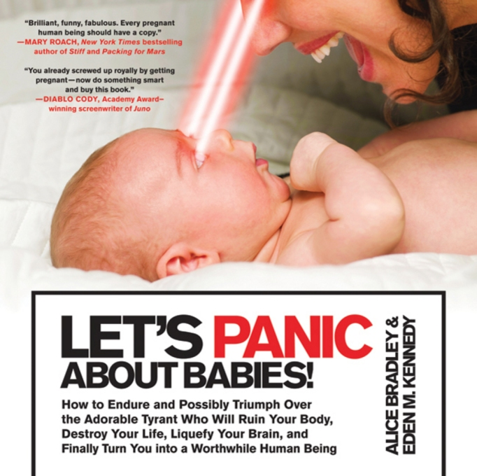 Best Pregnancy Books: Let's Panic About Babies by Alice Bradley and Eden M. Kennedy