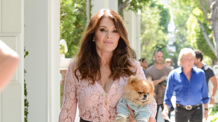 Lisa Vanderpump Responds After a Ferrari
