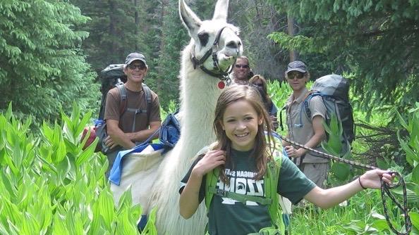 paragon guides llama hike