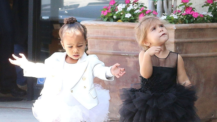North West & Penelope Disick 'Call Each Other Sisters' — Just Like Their Moms