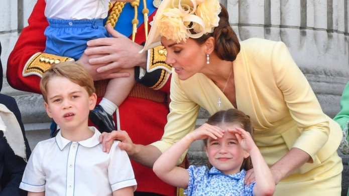 PrincessCharlottePrinceGeorgeKateMiddleton