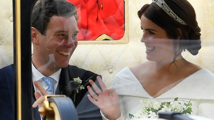 Princess Eugenie & Husband Jack Brooksbank