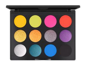 MAC cosmetics rainbow eyeshadow palate