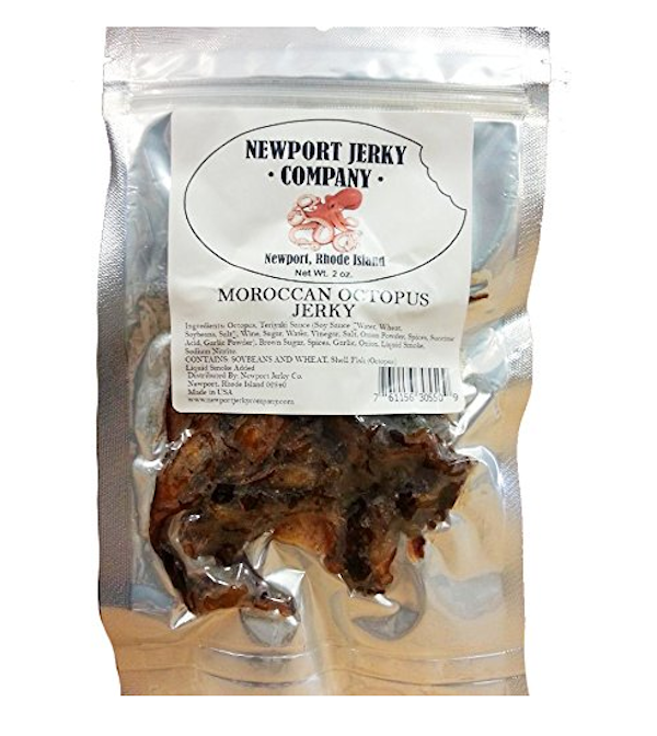 bag of octopus jerky