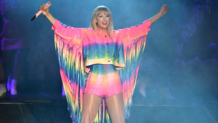 Taylor Swift at Wango Tango 2019