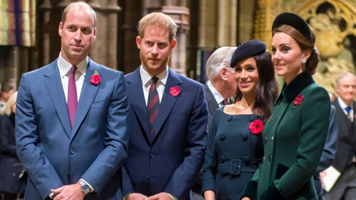 Prince William, Prince Harry, Meghan Duchess