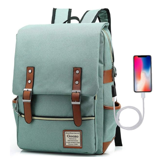 Unique School Supplies: USB Charging Backpack
