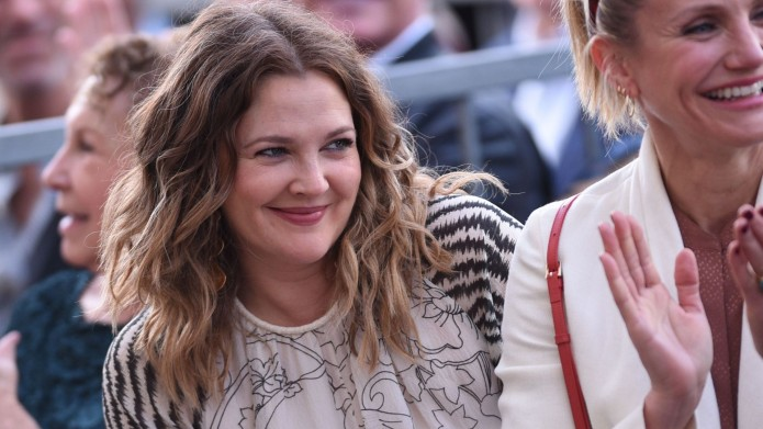 Drew Barrymore for Lucy Liu honored
