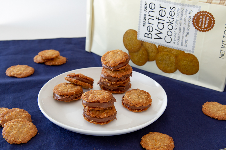 Benne Wafer Cookies.