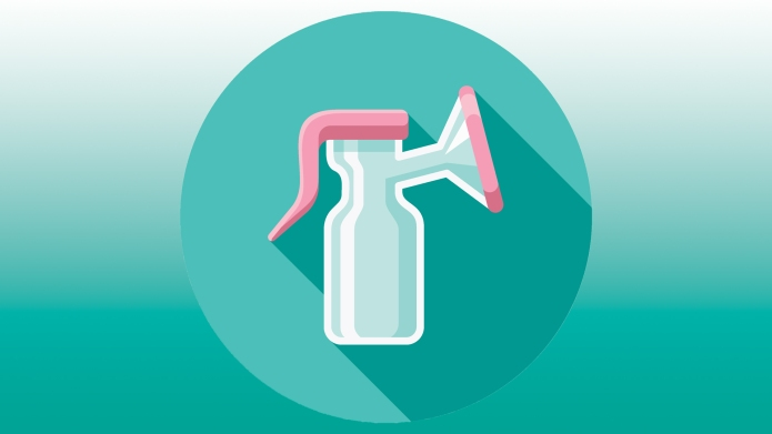 breast pump illustration