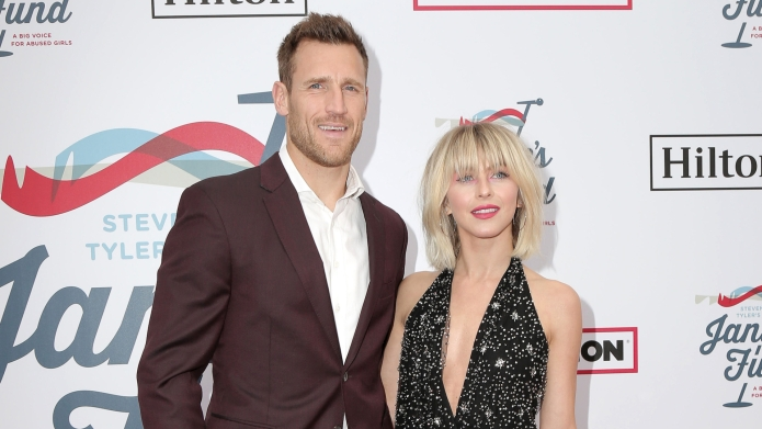 Brooks Laich, Julianne Hough, 2019 Steven