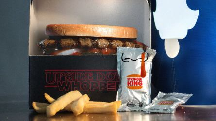 Burger King Stranger Things Upside-Down Whopper