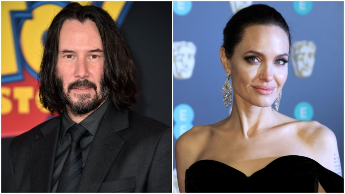 Keanu Reeves; Angelina Jolie.