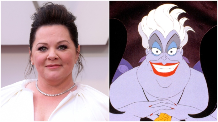 Melissa McCarthy 'Ursula' casting news.