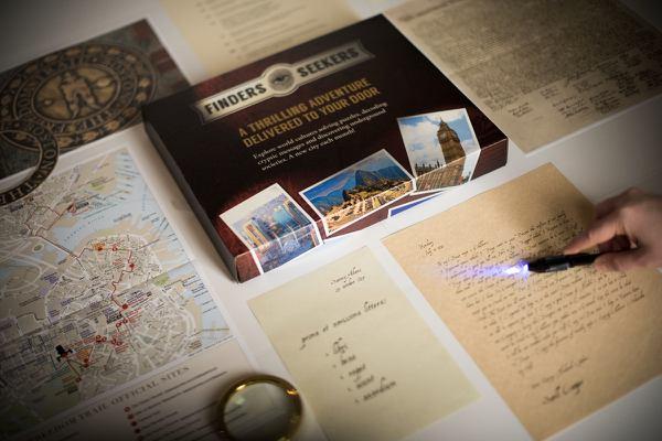 Finders Seekers Mysteries box