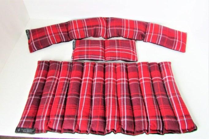 Flannel Heating Pad Set.