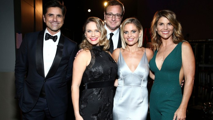 Fuller House cast at Television Academy's