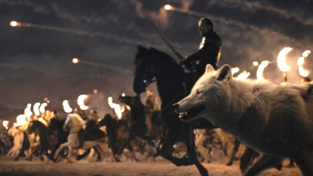 'Game of Thrones' Battle of Winterfell.