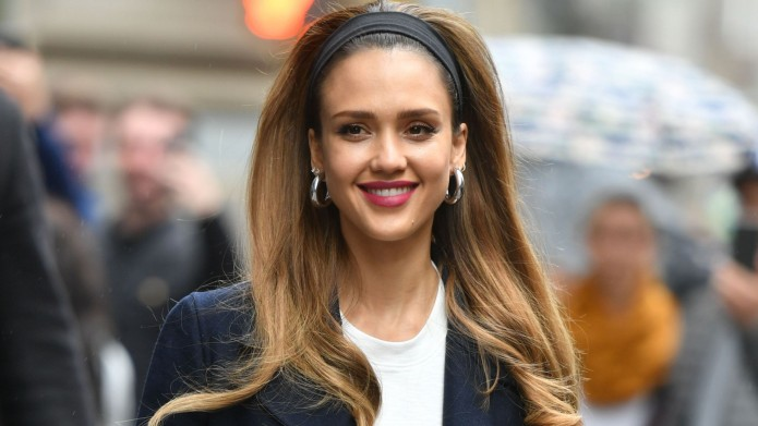Jessica Alba at Build Speaker Series,