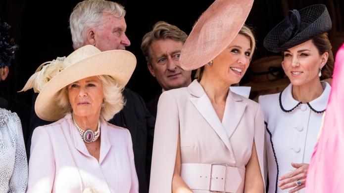 "The Internet Is Convinced Kate Middleton Got ""Scolded"" by Camilla in This Video"