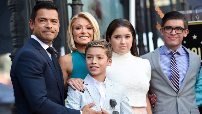 Kelly Ripa and Mark Consuelos with