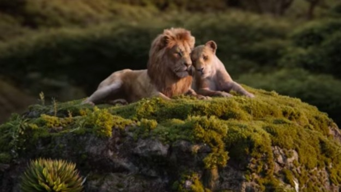 'The Lion King' trailer.
