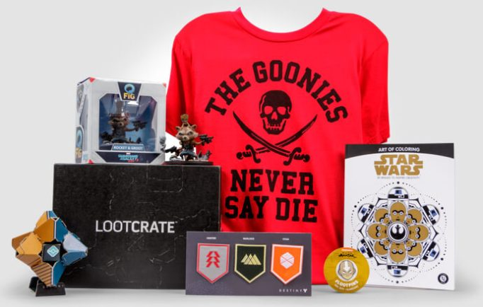 Loot Crate geeky subscription box