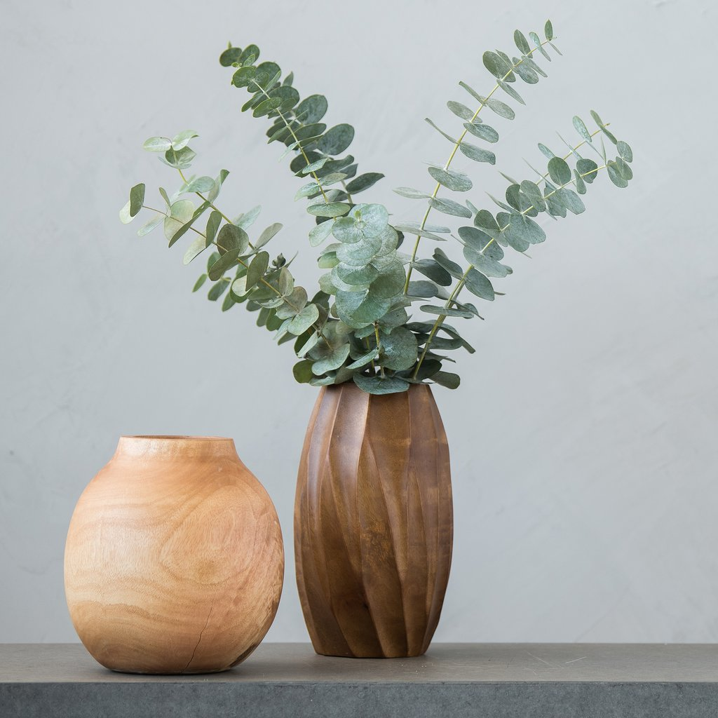 Magnolia Home Mango Wood Vases