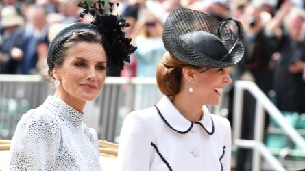Kate Middleton Queen Letizia at Order