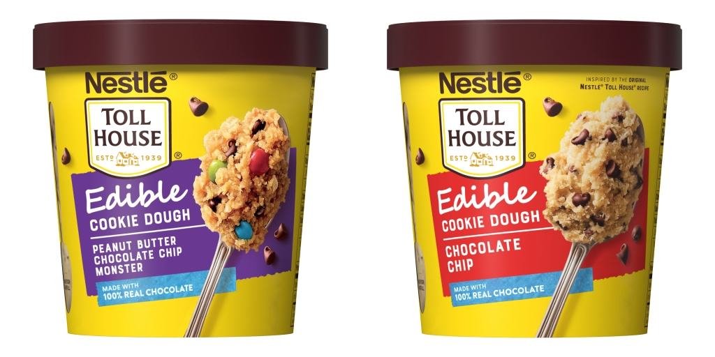 Nestlé Toll House Edible Cookie Dough flavors