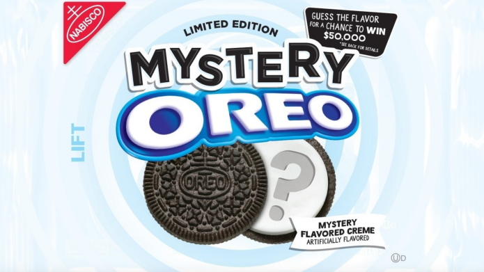 Oreo mystery flavor package
