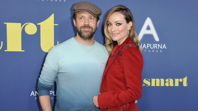 Jason Sudeikis and Olivia Wilde.
