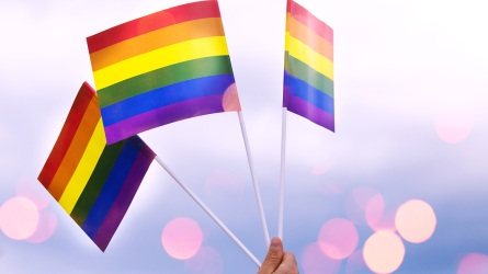 Lgbt pride month background; Shutterstock ID