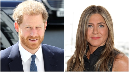 Prince Harry; Jennifer Aniston.