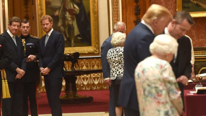 prince harry donald trump
