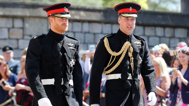 The wedding of Prince Harry and Meghan Markle, Pre-Ceremony, Windsor