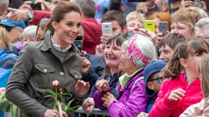 Kate Middleton in Cumbria.