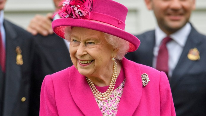 Queen Elizabeth II at Out-Sourcing Royal