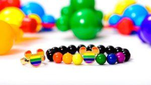 rainbow Mickey bracelet