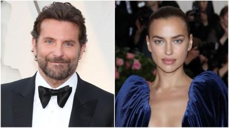 Bradley Cooper; Irina Shayk.