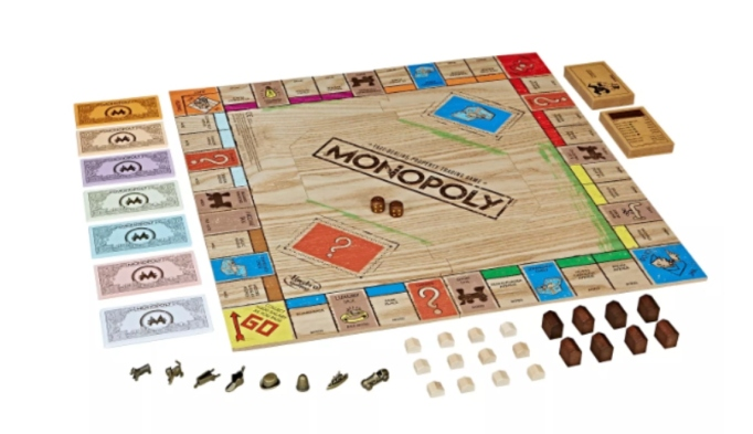 Monopoly Game: Rustic Series Edition.