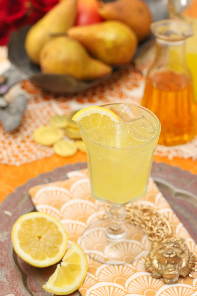 Saffron Infused Lemonade
