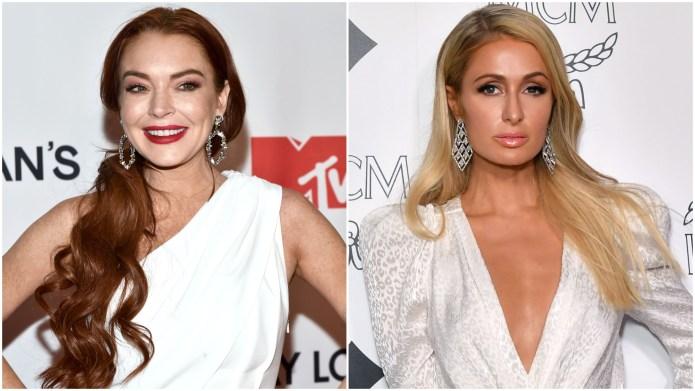 Lindsay Lohan; Paris Hilton.