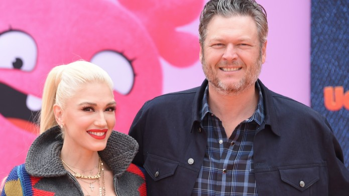 Shelton and Stefani at 'UglyDolls' film