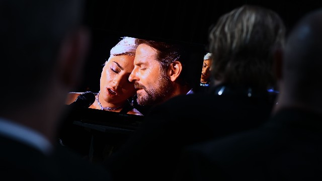Cooper and Gaga at Oscars